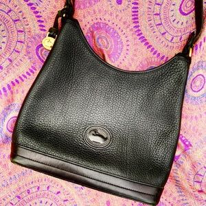 DOONEY & BOURKE vintage leather purse bag shoulder